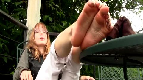 Plain Jane has dirty feet for you to enjoy