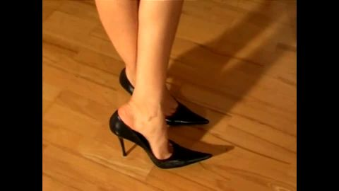 Leyla 173 dangles black Scarpins