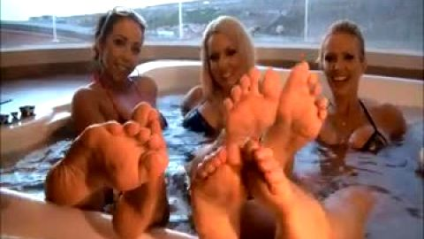 You're not a fool if you watch 3 foot hotties in the pool