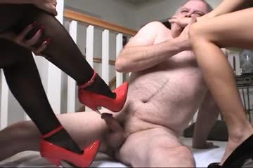 Cock crush and footjob 10