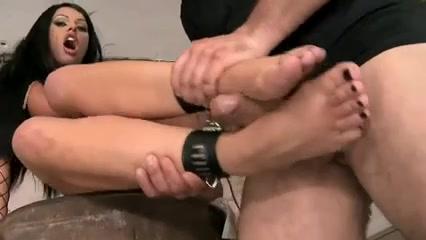 Footjob And Sex