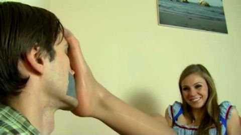 Feet smothering duct taped mouth