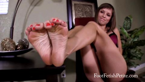 JOI from sweet petite with dirty feet