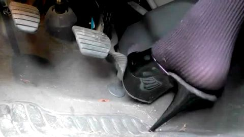Amateur pumping clutch and gas pedals