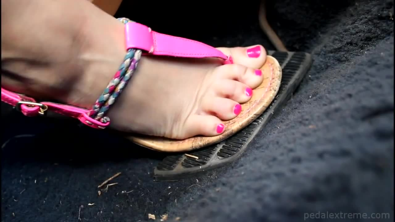 Shoulders ebony fetish foot gas pedal pumping are mistaken
