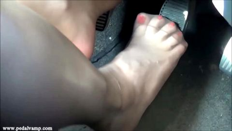 Driving nylon feet and soles