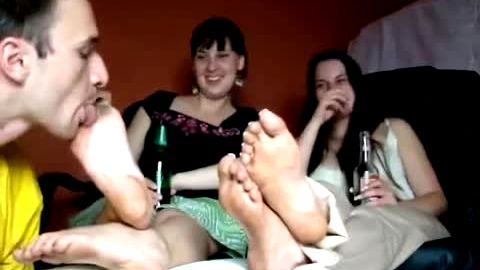 Passionate Dirty Foot Licking Foxy Three way