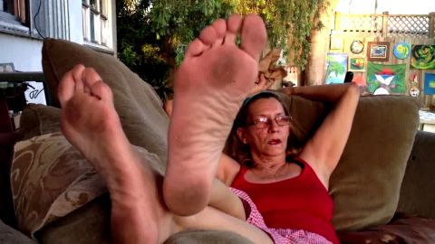 Older Women Dirty Foot Fetish