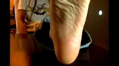Watch This Cute Girl Kick Back And Twirl Her Little Asian Toes In Your Face