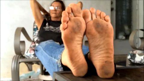 Hot Mature Dirty Feet in Your Face