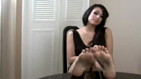 Latina knows feet turn you on
