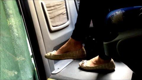 Pure voyeur feet in ballerin, yummy yummy
