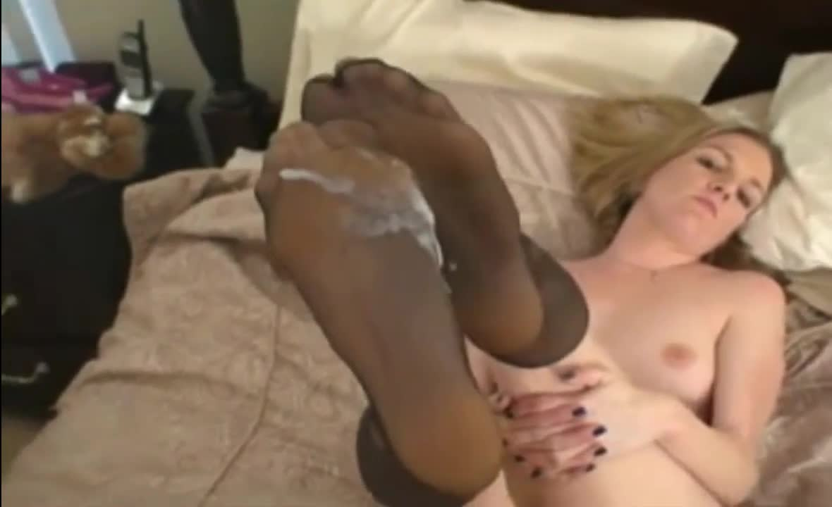 Have Black stockings sex cum interesting
