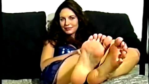 Worship my wrinkled soles and I might let you cum