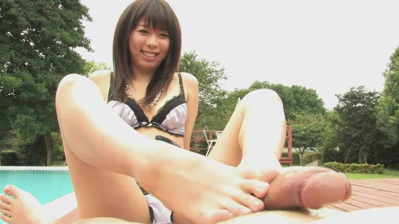 Asian pussy and feet
