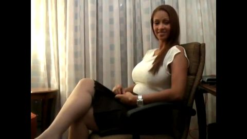 Sexy Ebony feet in white stockings tickled