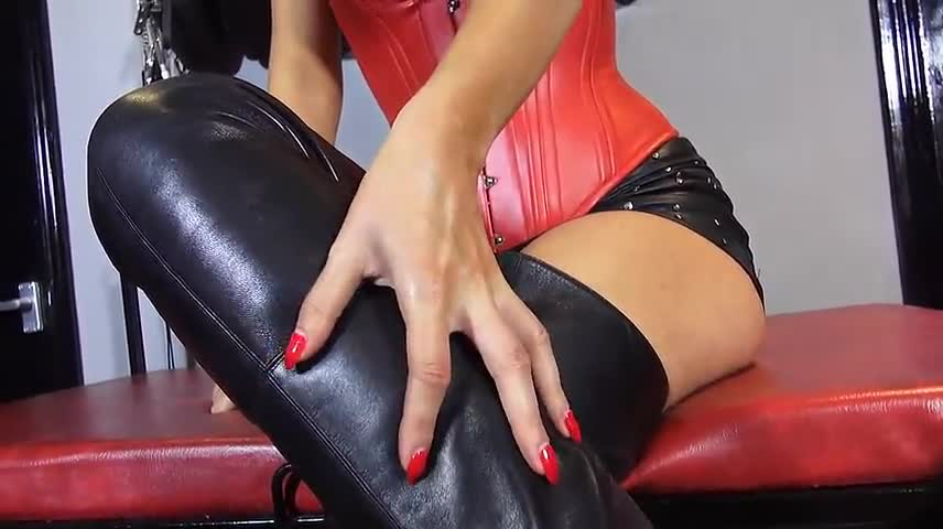 Milf Anal Leather Boots
