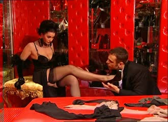 Feet porn in nylon, stockings and pantyhose 1H - Feet9