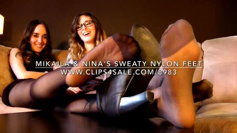 Mikaila & Nina's Sweaty Nylon Feet
