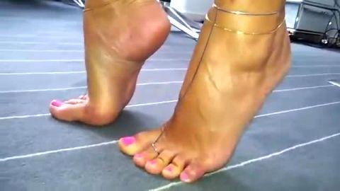 Walking like i am wearing high heels dear