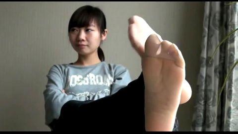 Beautiful Teenage Asian with Beautiful Feet