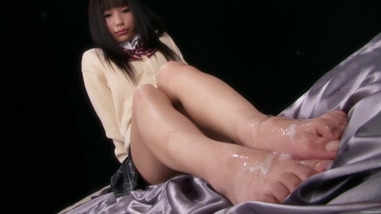 Cum on soles bukkake touching words