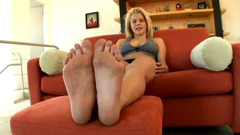 Smoking hot Charlie Lynn reveals her amazing body and soft feet and gets fucked