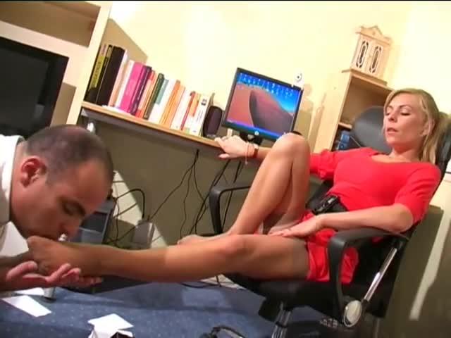 Lesbian Big Feet Domination