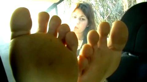 german stinky feet in my car