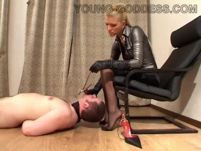 Russian Fetish Tickling Blond