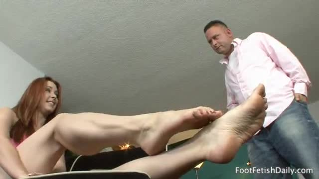 Beauty sexy footjob by opinion you are