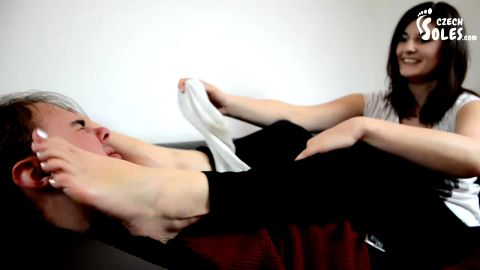 Smell my worn sweaty socks! - CzechSoles.com teaser