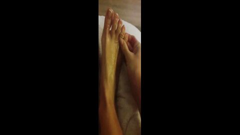 amateur sexy foot massage