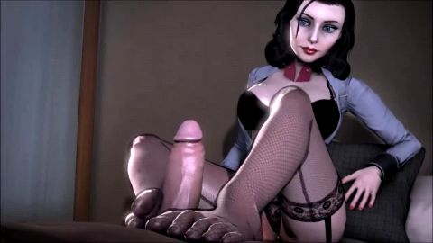 Curvylicious Hentai babes delivering the most amazing footjobs ever in hot compilation