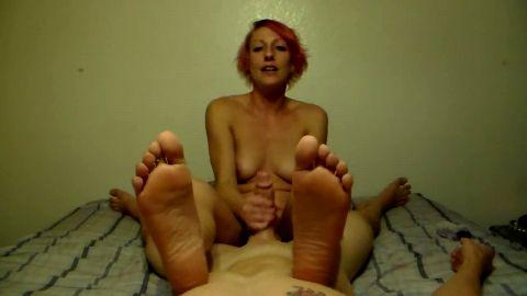 sexy soles pov + handjob
