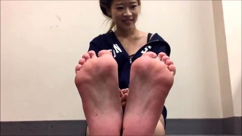 Cute amateur girls show off their phenomenal feet at the dentist office