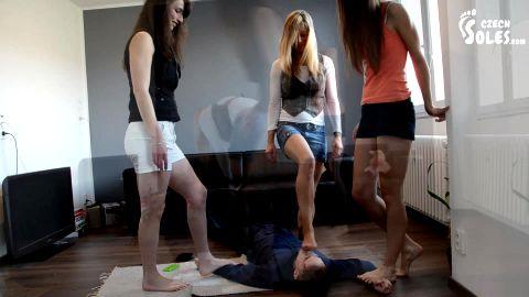 Three bullies humiliation