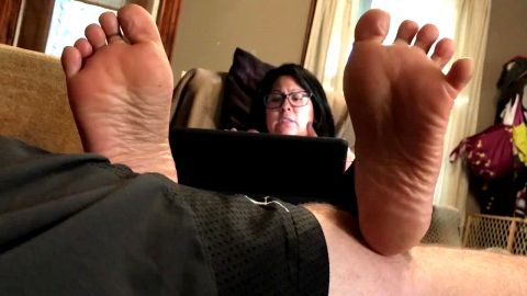 Latinas Wide Soles on display