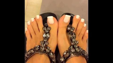Fetish compilation of my lovely amateur feet in different occasions