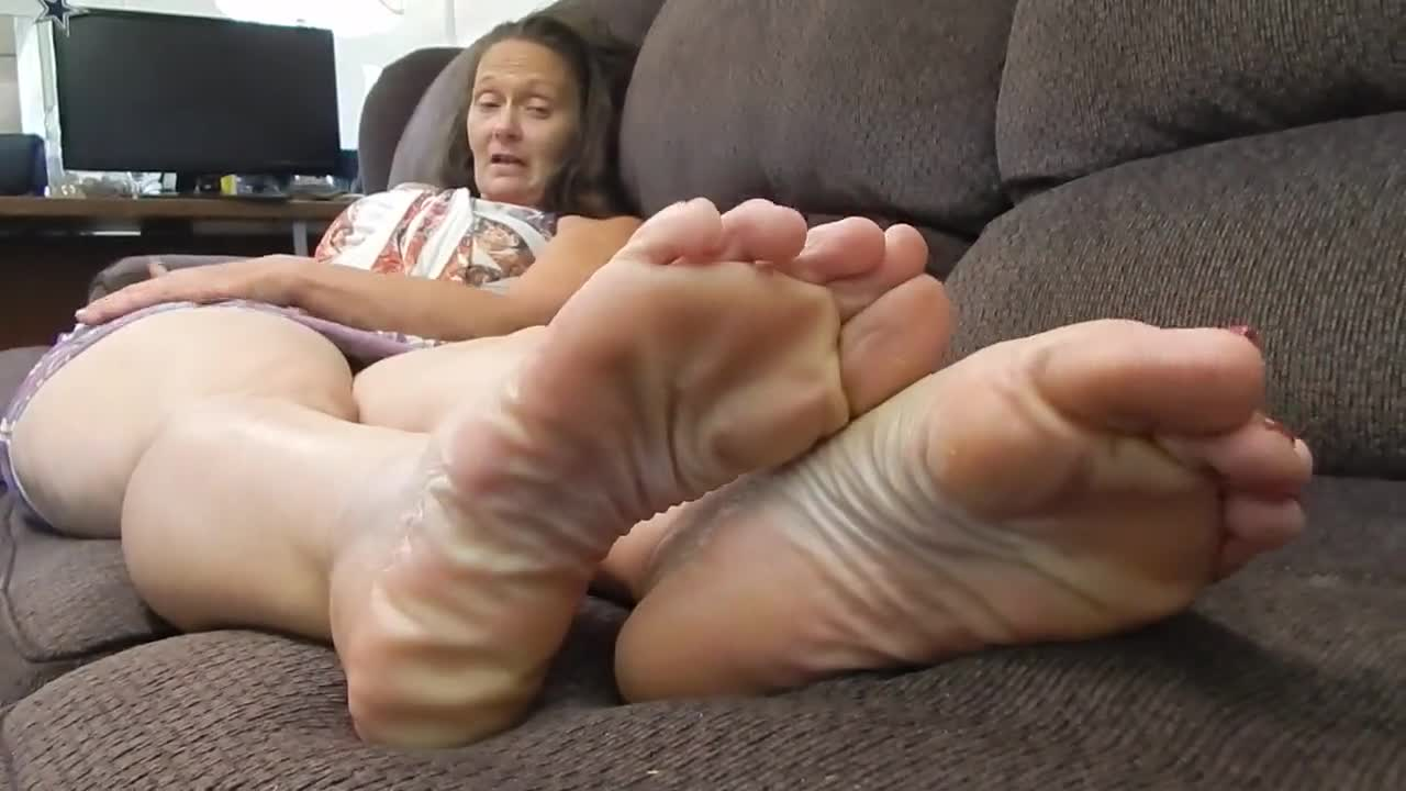 Blonde Girl Feet Worship